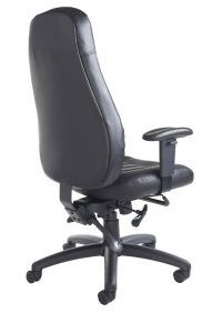 Leather Ergonomic Task Chair - Stamford - Online Reality