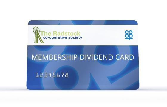 membership dividend card the