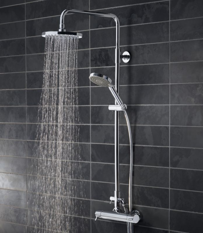 kinetic bar valve shower