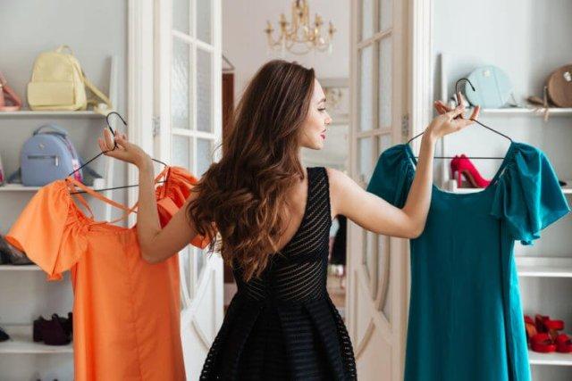 Filter choose clothes girl