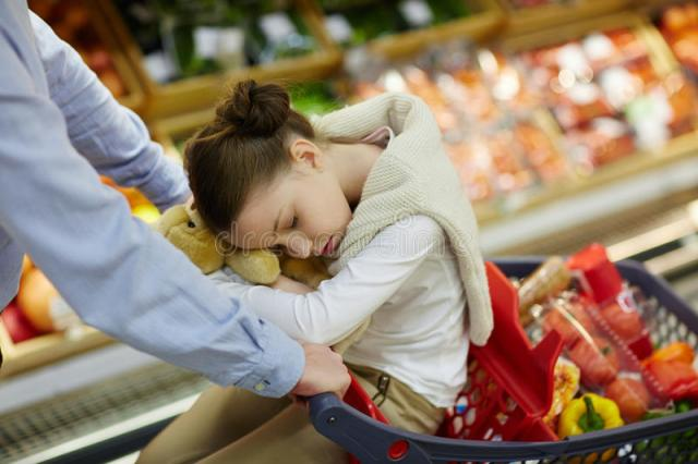 Grocery Tired