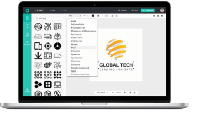 Customize logo