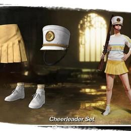 米米 PUBG啦啦隊套裝可單買衣服裙子等服飾