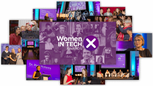 women in tech awards photo collage