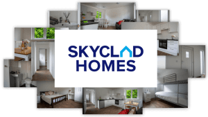 skyclad homes collage