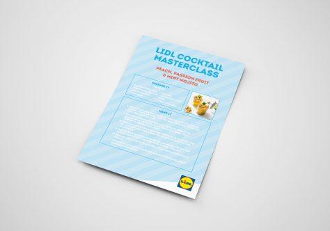 Lidl Ireland Cocktail Masterclass Recipe Cards Image