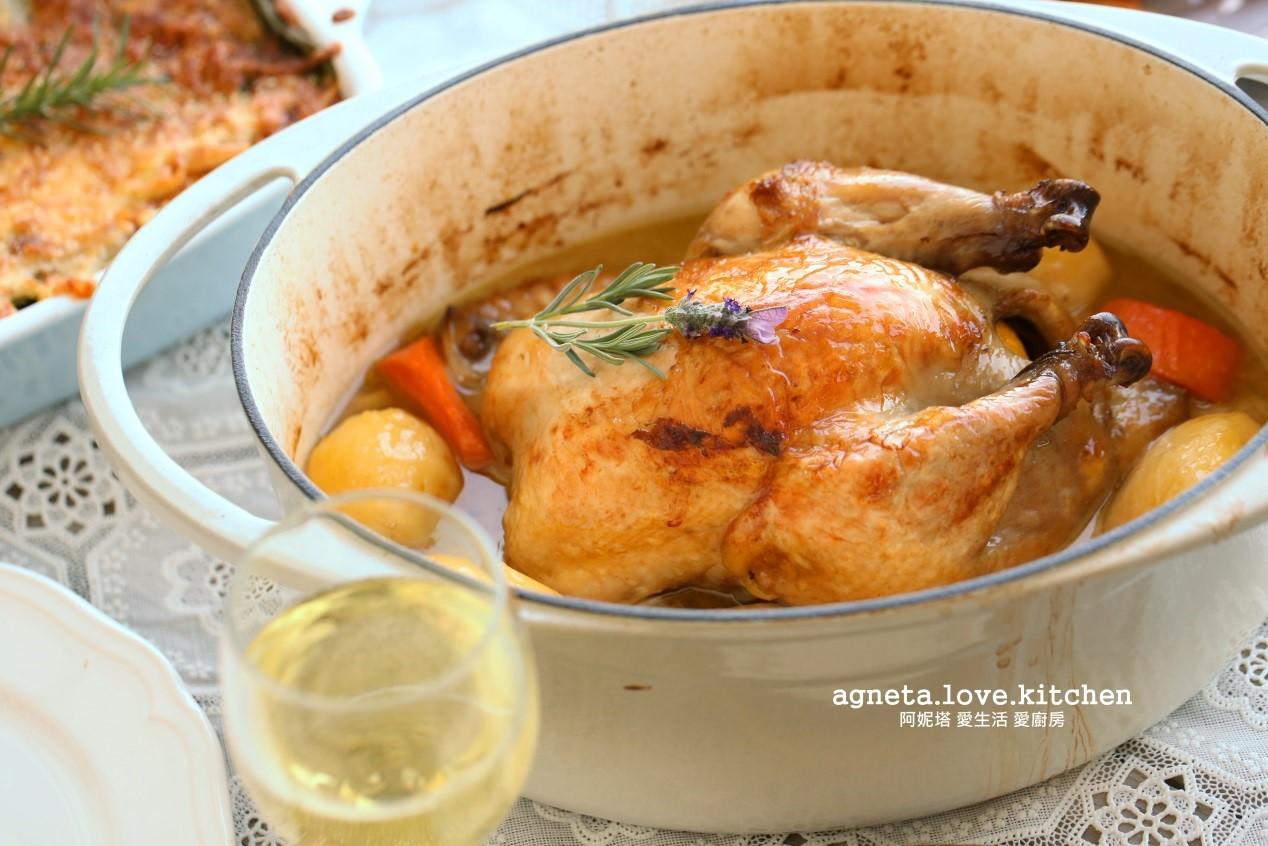 烤全雞的玄機!就用鑄鐵鍋一鍋到底 - 愛料理生活誌