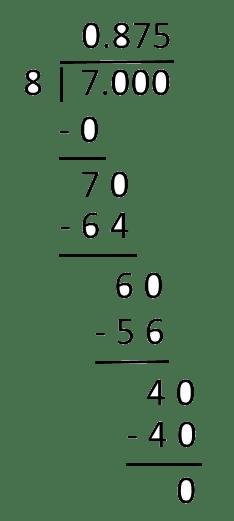 Fraction To Decimal Converter