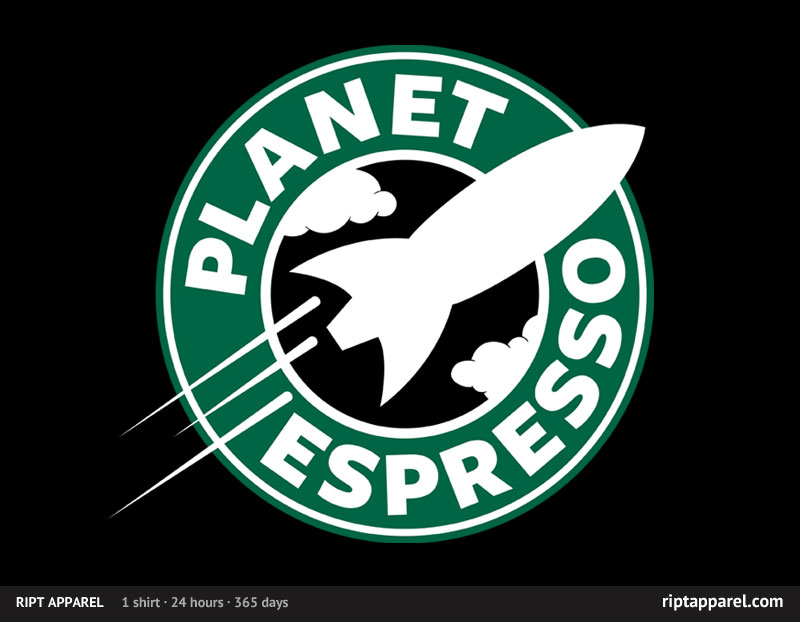 Futurama and Coffee together at last