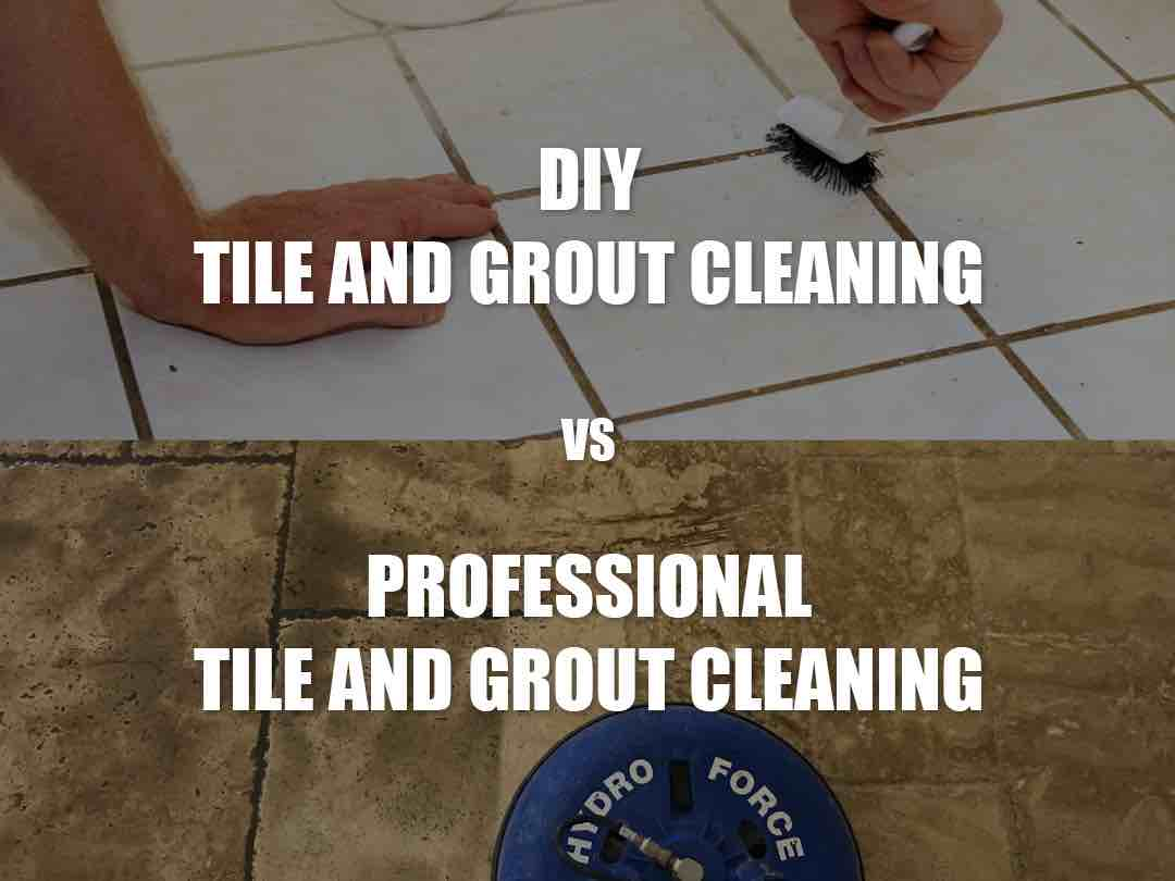 diy vs professional tile and grout cleaning