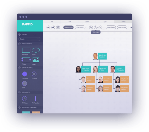 small resolution of create static diagrams or fully interactive diagramming tools such as workflow editors process management tools ivr systems api integrators
