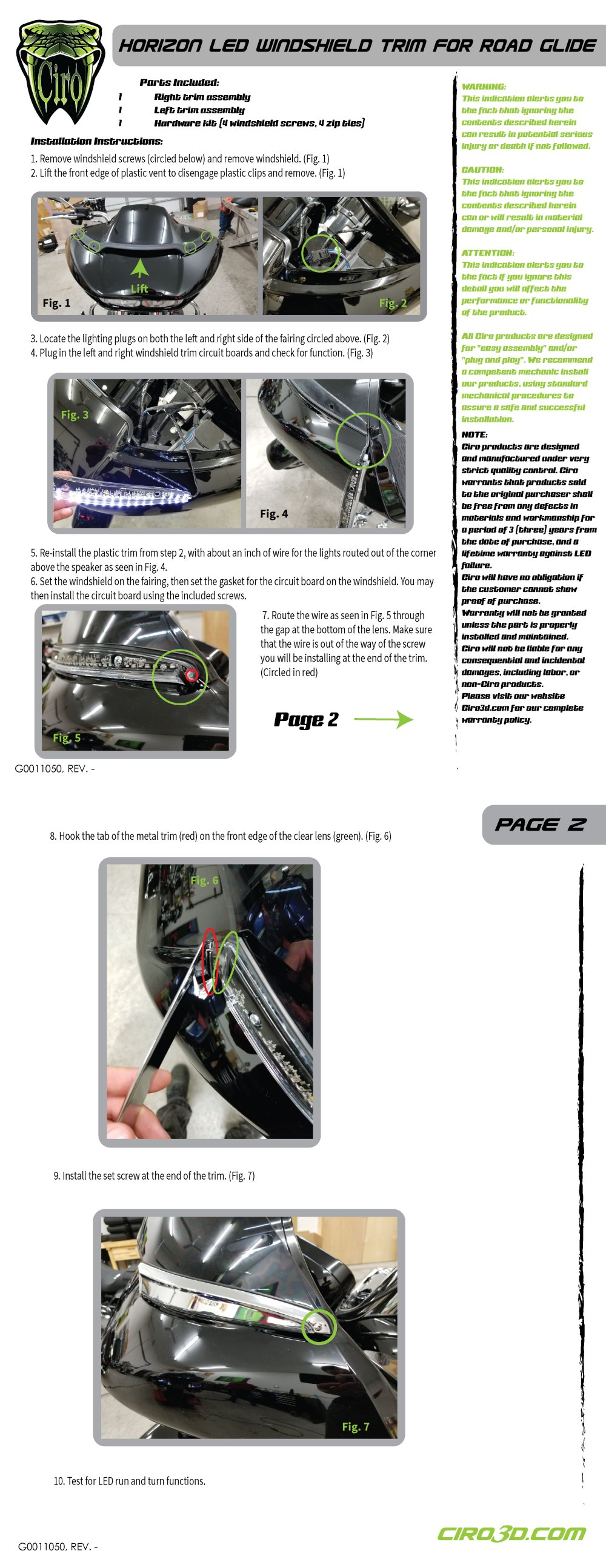 medium resolution of related products lighted vent trim for road glide