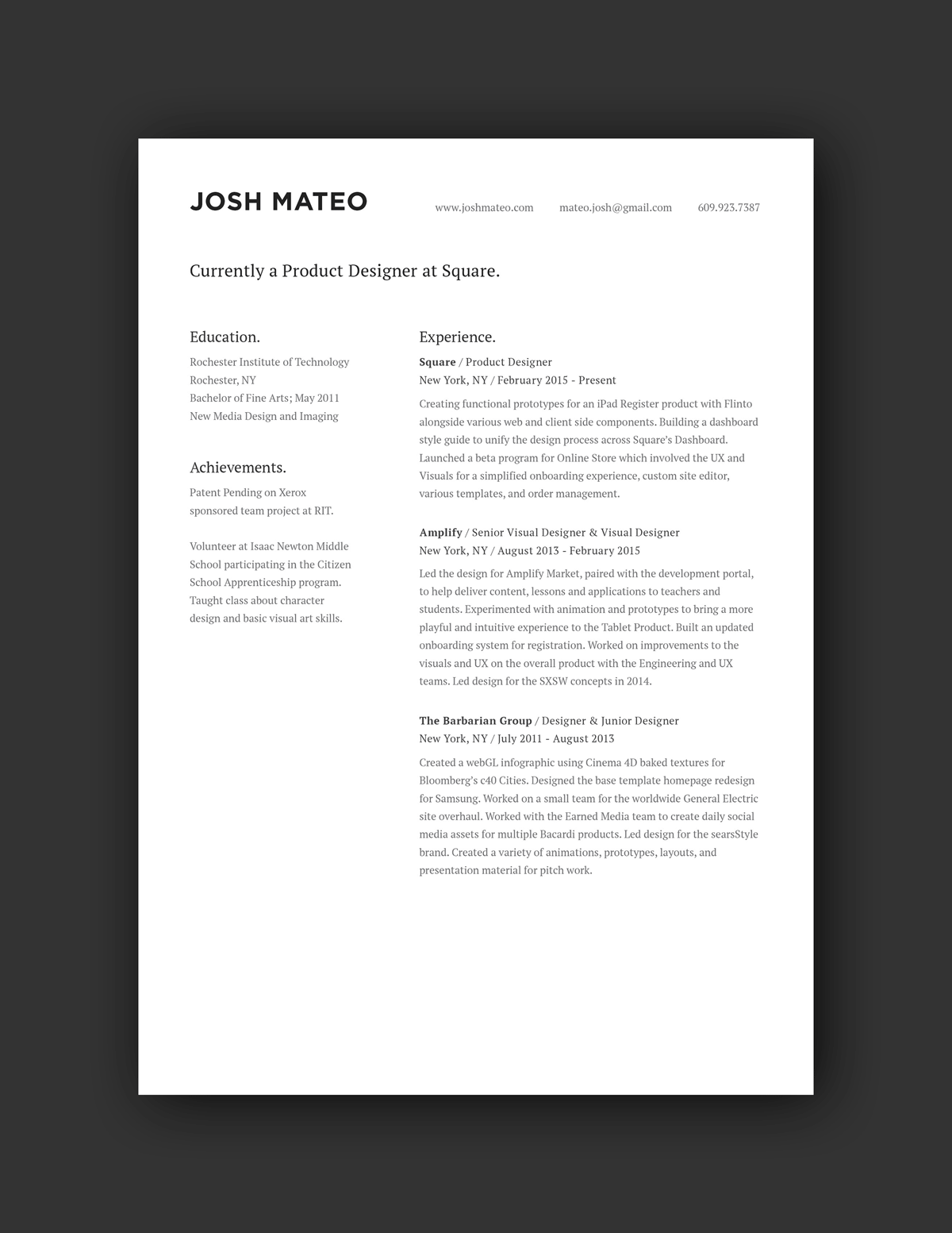 Online Travel Agent Cover Letter 21 Inspiring Ux Designer Resumes And Why They Work
