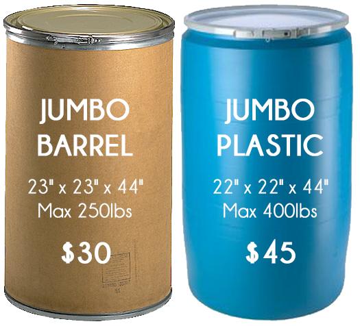 Cardboard Barrels For Sale Near Me