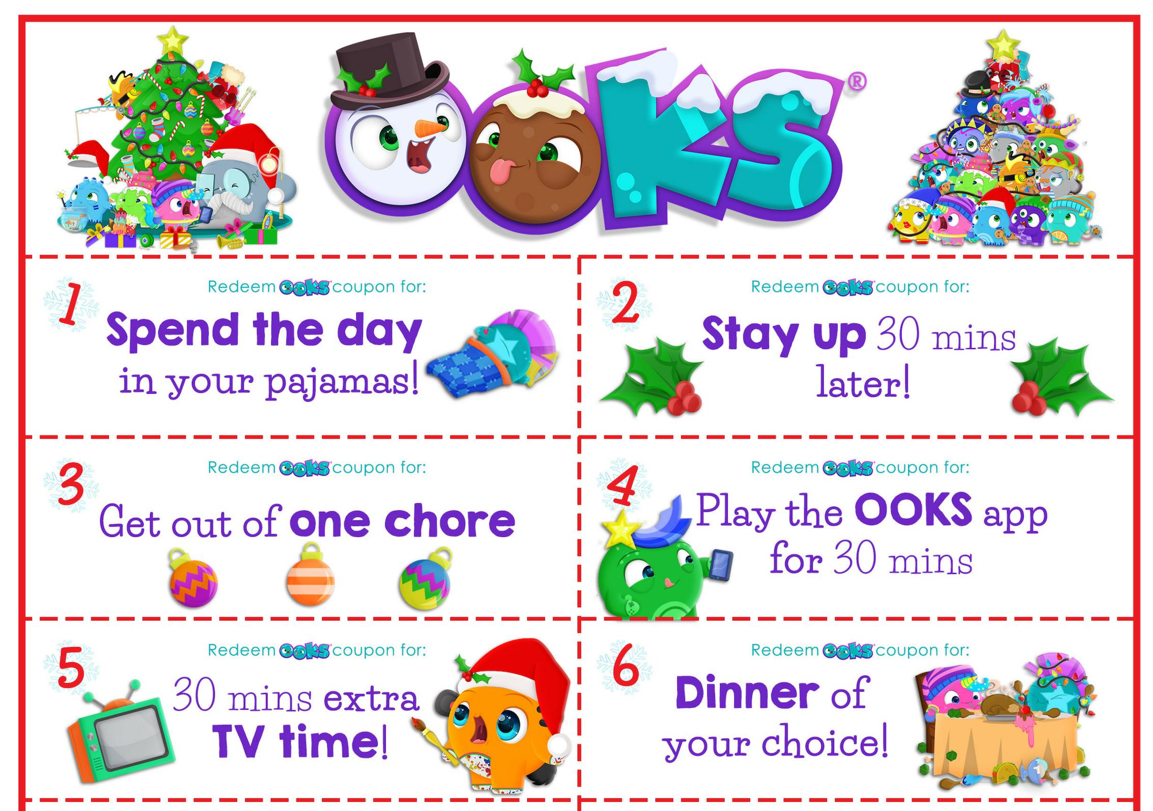 Free Printable Twelve Days Of Christmas Coupons