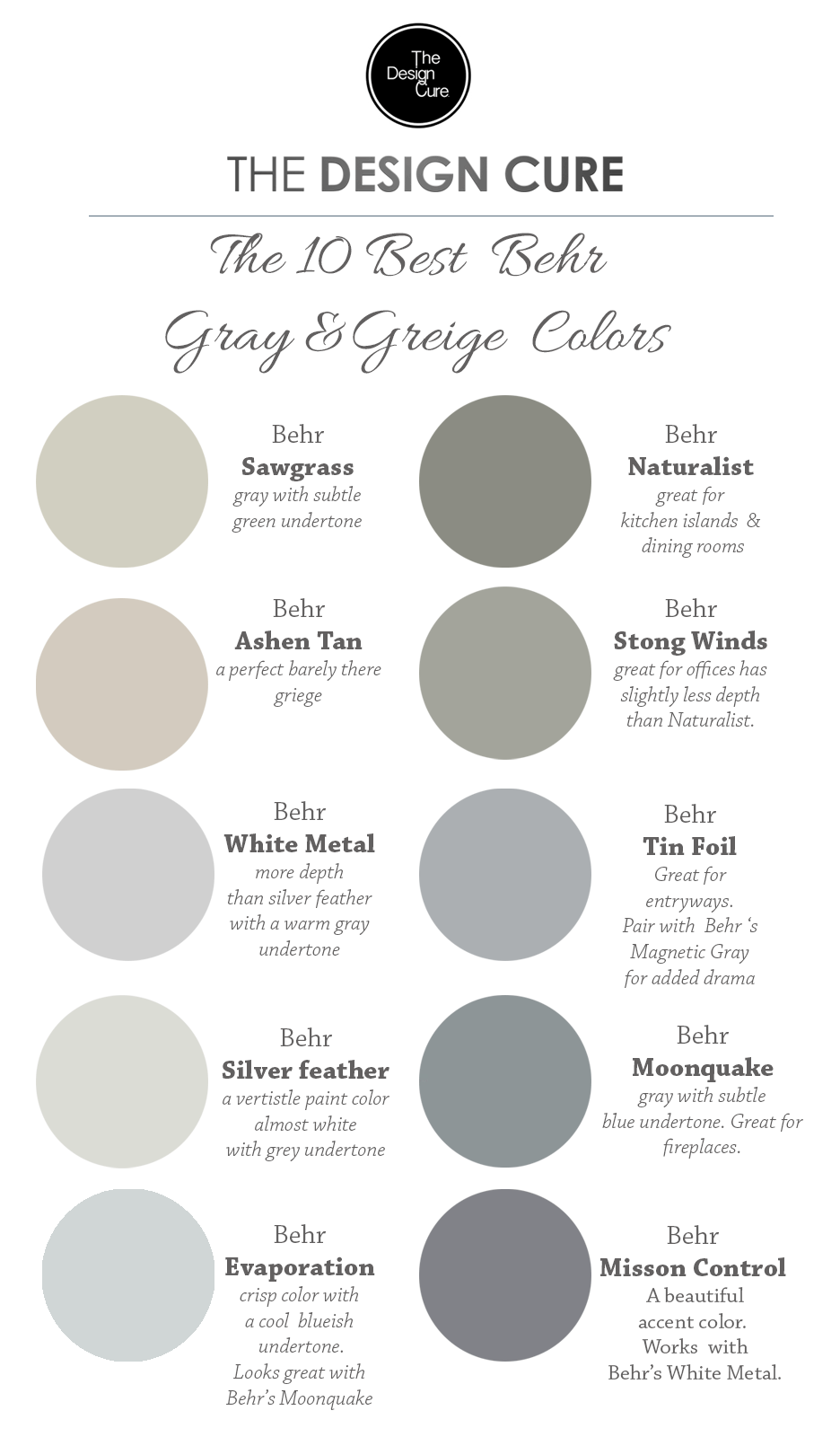 gray and taupe living room light airy design a round up list of the 10 best greige colors by behr