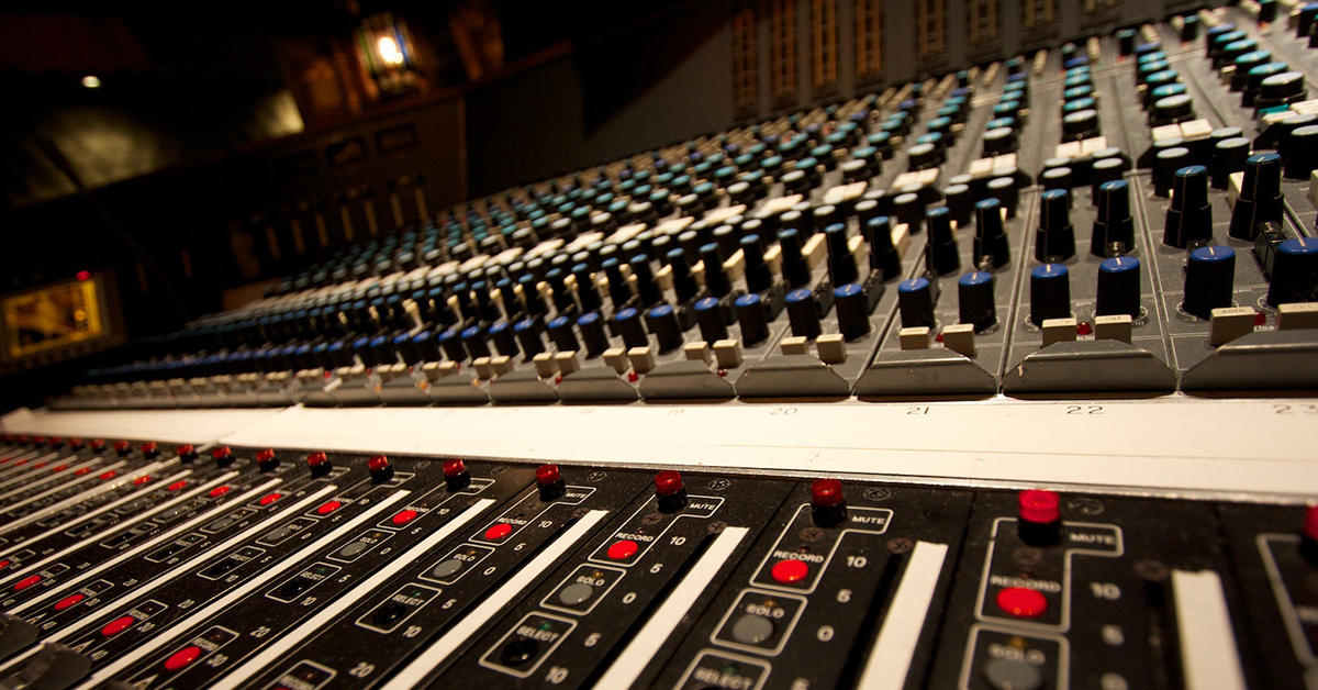 The evolution of the audio recording console