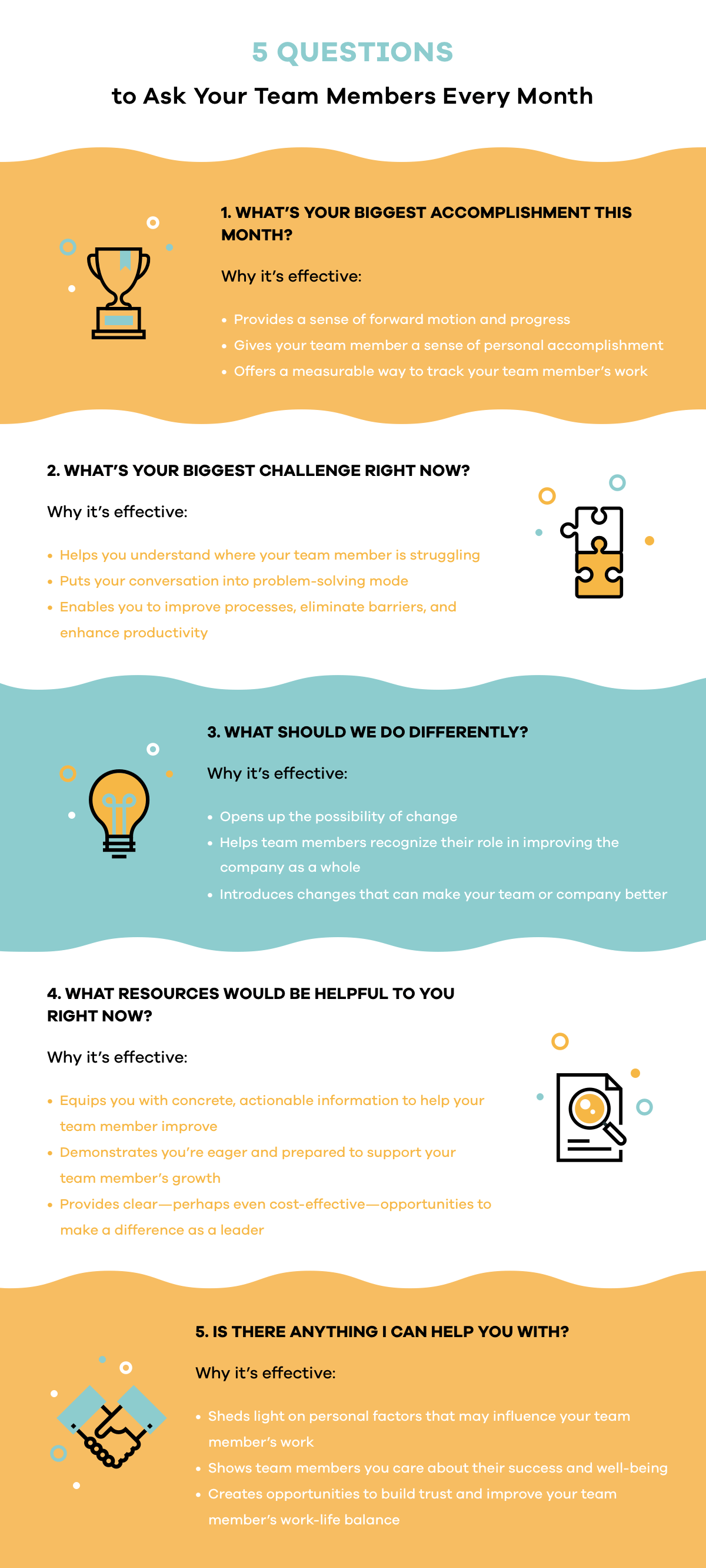 5 Questions To Ask Your Employees Every Month