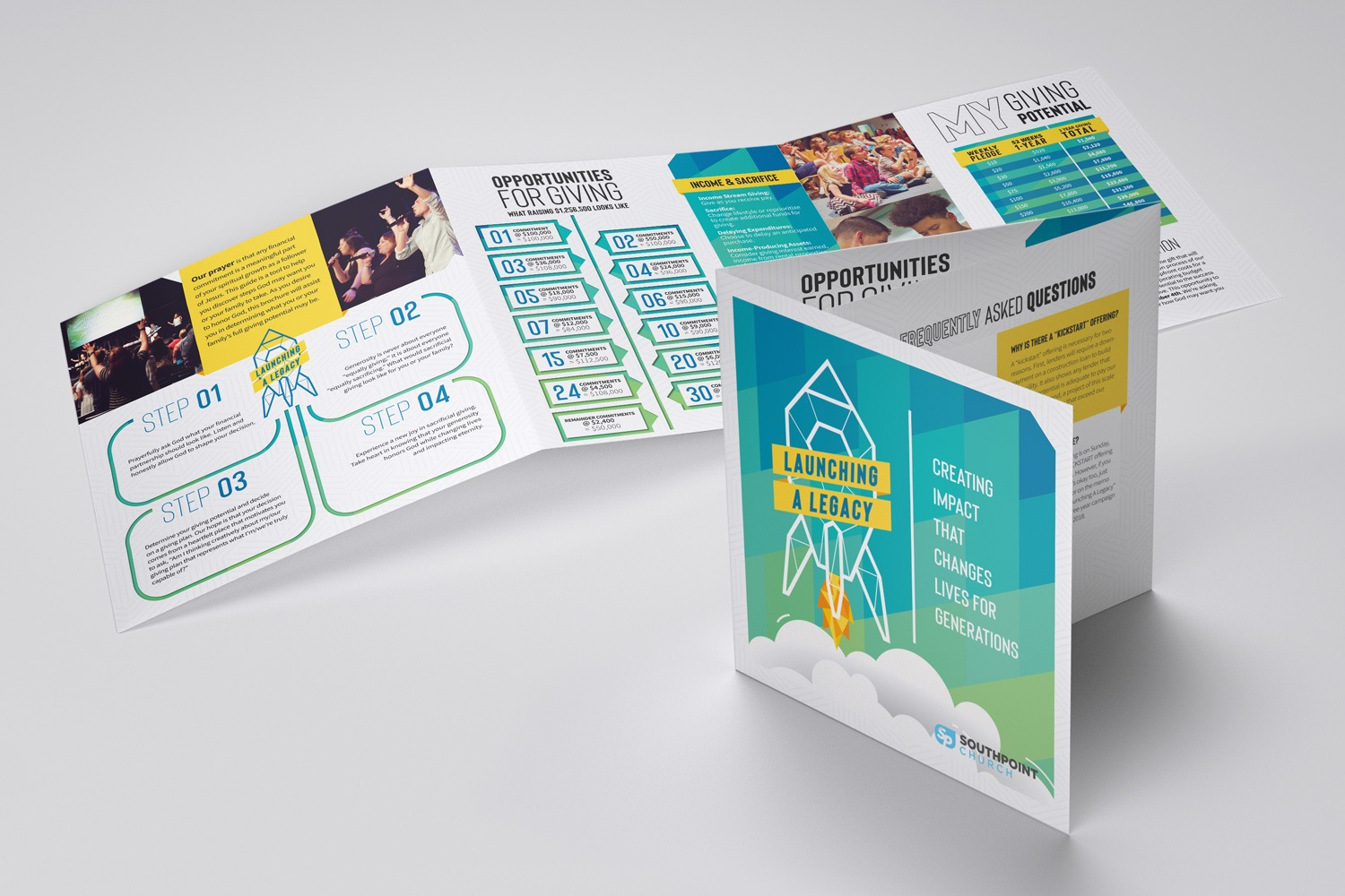 brochures design printing church