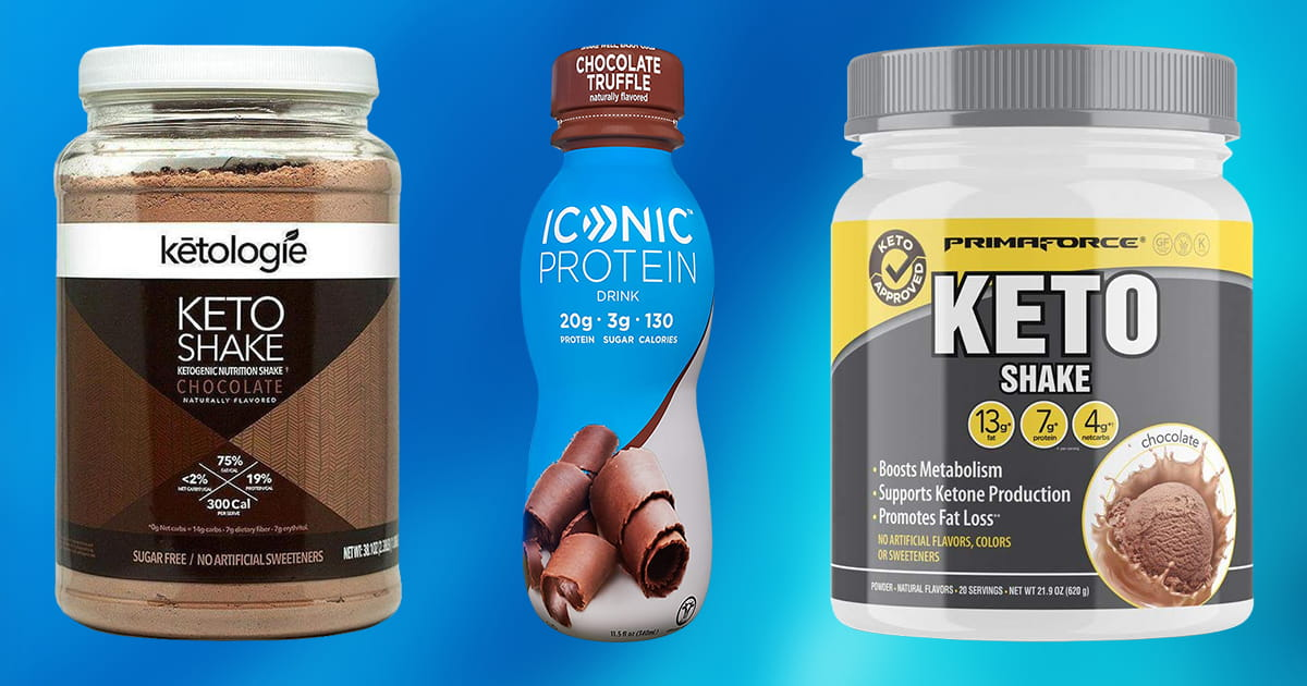 Best Keto Protein Shakes for 2019   TOP 10 PICKS