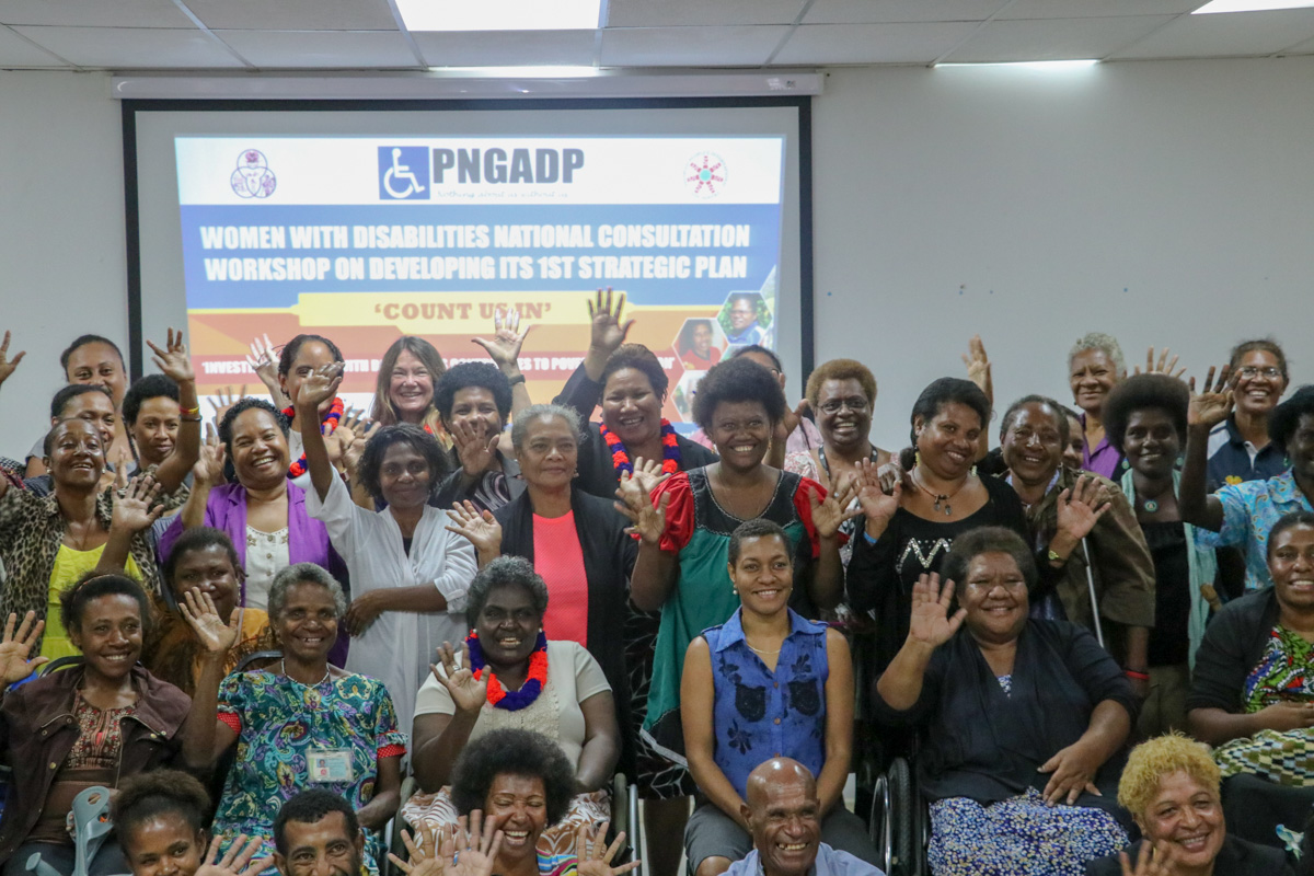 """""""around 15 Per Cent Of Png's Total Population Have Some Form Of Disability.  Women With Disabilities Are One Of The Most Marginalised And Vulnerable  Groups"""