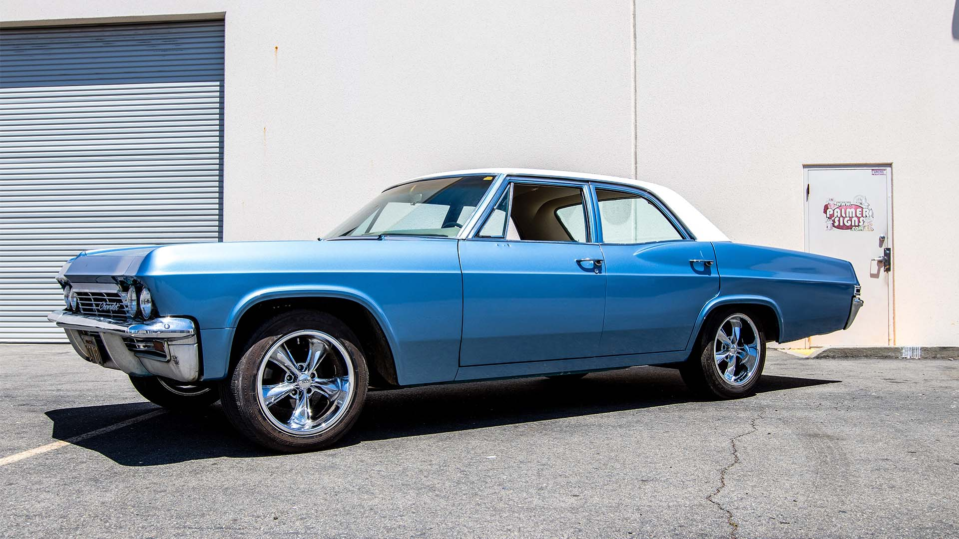hight resolution of 1965 chevy impala ss 3m 1080 gloss ice blue
