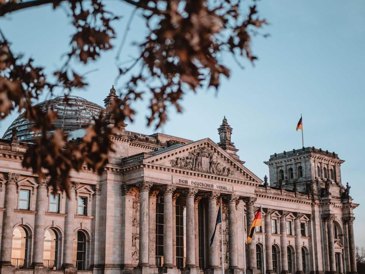 The Rebuilt Reichstag, berlin