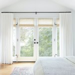 Say Bonjour To Window Treatments For French Doors Everhem
