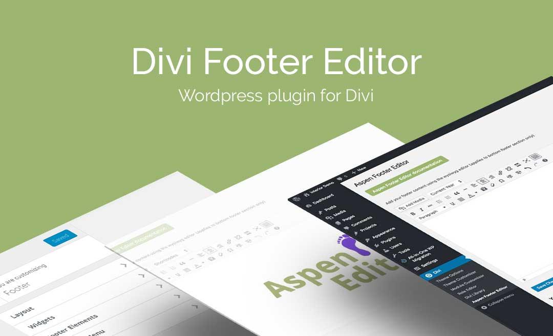 Download Divi Footer Editor