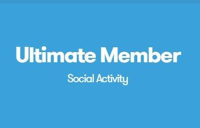 Ultimate Member Social Activity