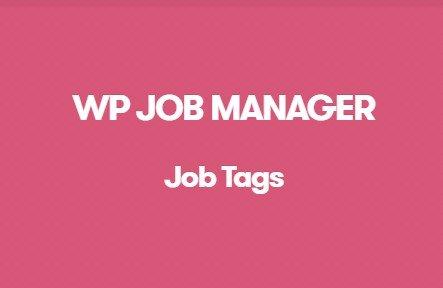 Download WP Job Manager Job Tags Addon