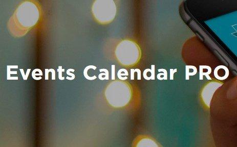 The Events Calendar PRO WordPress Plugin