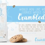 Restaurant Branding The Cookie Crumble Cafe Bakery Brand And Packaging