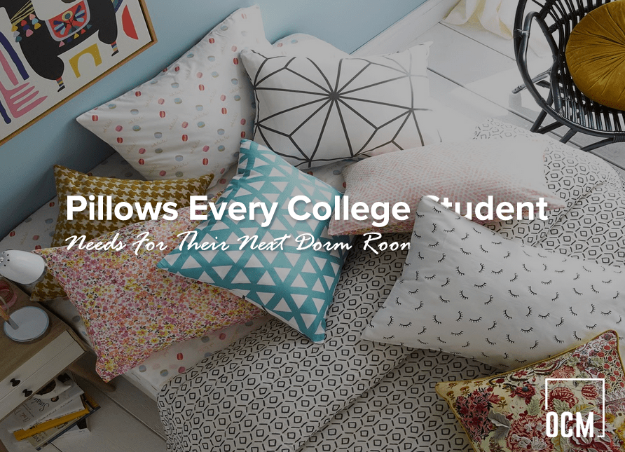 pillows every college student needs for