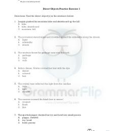 Direct Object Worksheet Englishlinx   Printable Worksheets and Activities  for Teachers [ 1650 x 1275 Pixel ]