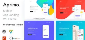 Aprimo – Mobile & App Landing WordPress Theme
