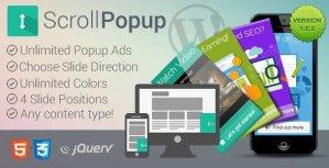 WordPress Scroll Popups Plugin