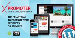 xPromoter – Top Bar Switcher Responsive WordPress Plugin