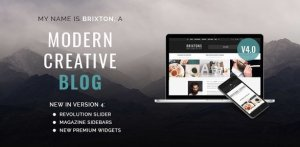 Brixton – WordPress Blog Theme