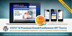 Expo18 – Responsive Event Conference WordPress