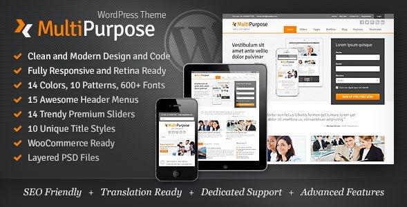 MultiPurpose - Responsive WordPress Theme