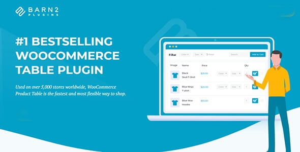 WooCommerce Product Table By Barn2 Media