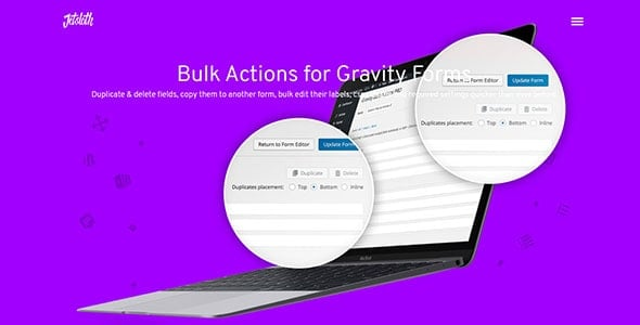 Gravity Forms Bulk Actions Pro