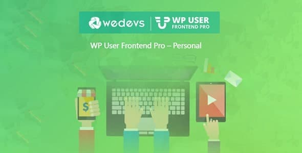 WeDevs WP User Frontend Pro Business