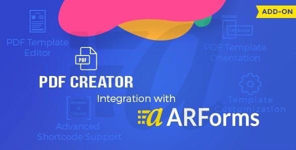ARForms PDF Creator Addon