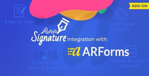 ARForms Signature Addon