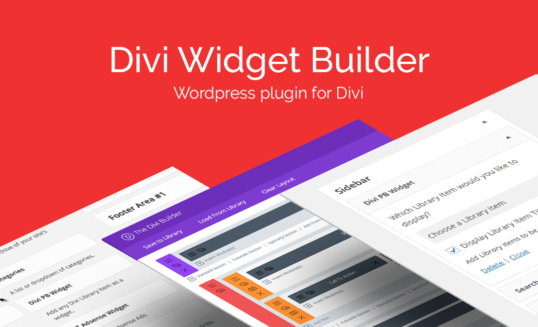 AGS: Divi Widget Builder