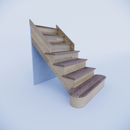 Custom Prefab Stairs At An Affordable Price | Pre Built Wood Stairs | Exterior | Landing | Free Standing | Lvl | Basement