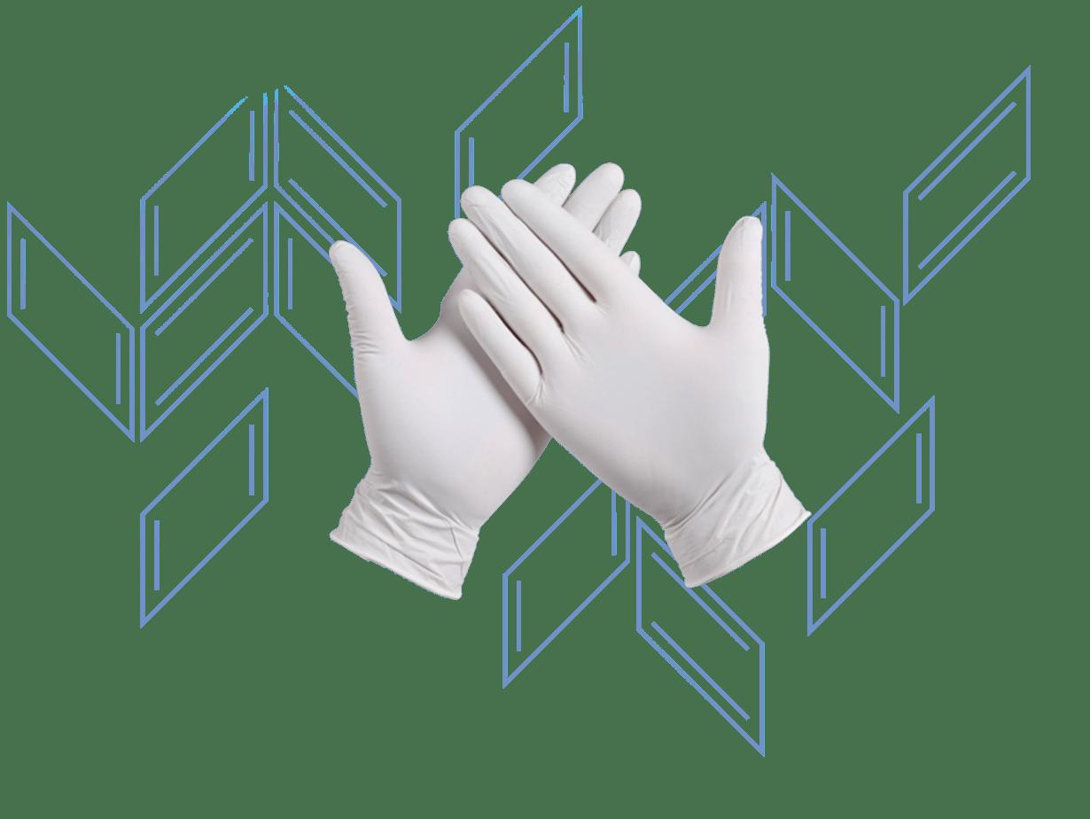 乳膠手術手套 | 防護用品 | 冠麟醫療