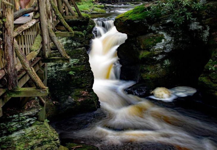 Main Falls, Bushkill Falls, Pocono Mountains